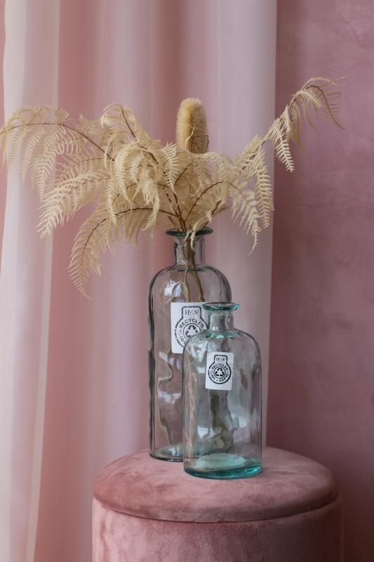 Винтажная стеклянная ваза