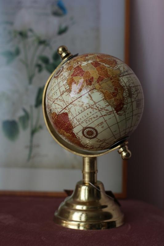Декоративный глобус
